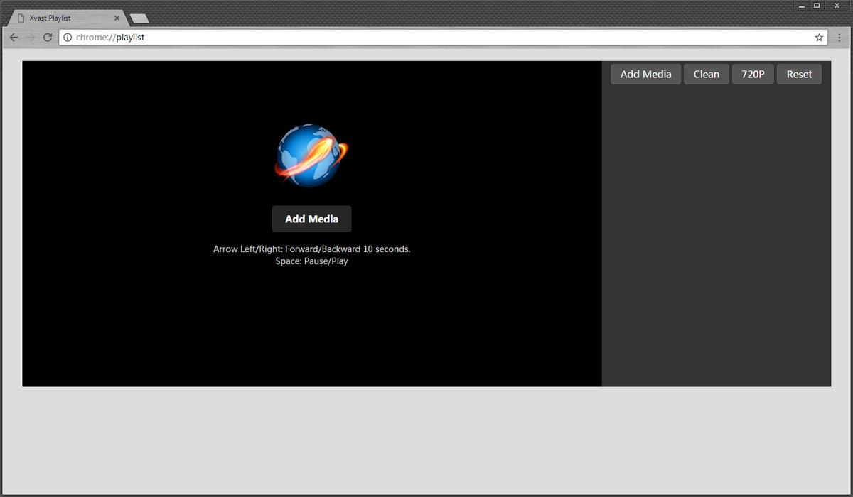 Xvast full screenshot