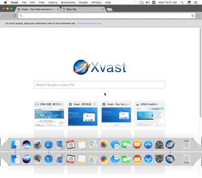 Xvast for Mac full screenshot